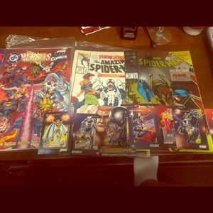 VINTAGE COMIC BOOKS AND COMIC CARDS NEW!!